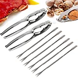 8 PC Seafood Tool Set Lobster And Crab Cracker Tool Set Forks Nut New In Box Crack and pick your way through a delicious crab meal With all the necessary utensils for an easy meal of seafood