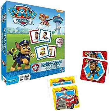 Spin Master Paw Patrol Look a Likes Niños Juego de Mesa de Aprendizaje - Juego de Tablero (Juego de Mesa de Aprendizaje, Niños, Niño/niña, 3 año(s), 72 Pieza(s), Multicolor): Amazon.es: Juguetes y
