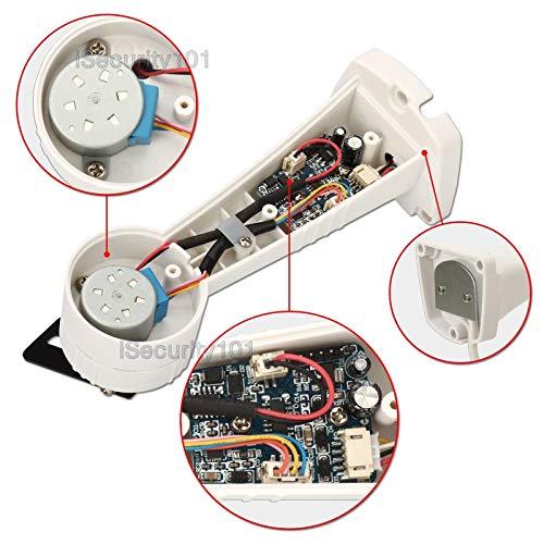 Amazon.com: Mocei CCTV Camera Electric Bracket Holder Wall Mount Kit Auto Rotate RS485 Control: Electronics