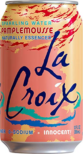 LaCroix Sparkling Water, Lemon, Lime, & Grapefruit Variety Pack, 12oz Cans, 24 Pack, Naturally Essenced, 0 Calories, 0 Sweeteners, 0 Sodium by Shasta Beverages, Inc (Pantry) (Image #4)