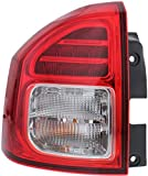 Tail Light Assembly Compatible with 2014-2017 Jeep Compass Driver Side