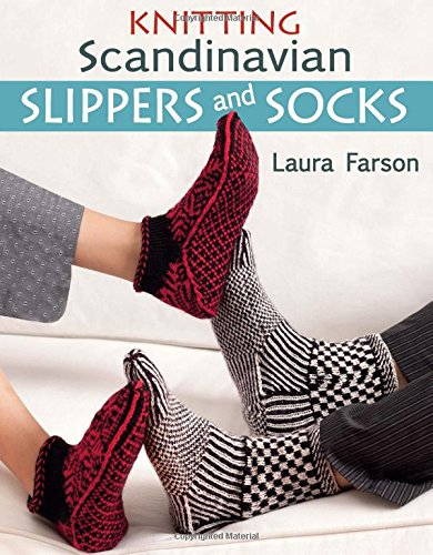 Knitting Scandinavian Slippers and Socks (Crochet Slipper Sock Pattern)