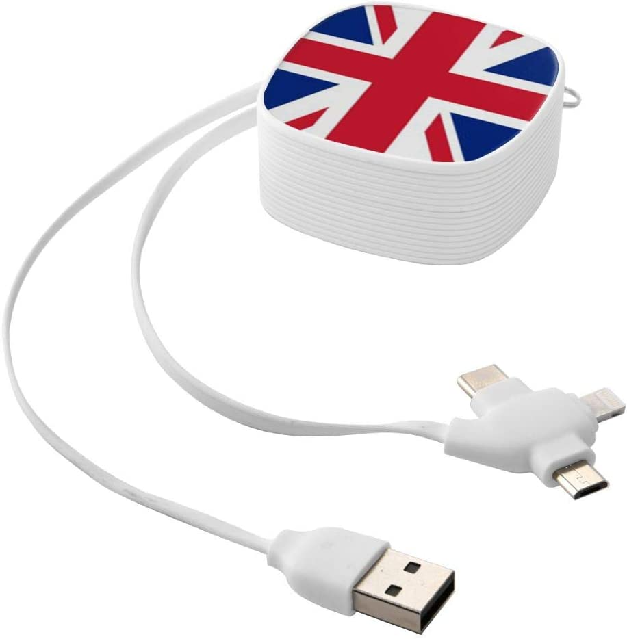 United Kingdom Flag Suitable for Any Mobile Phone Three in One Data Line