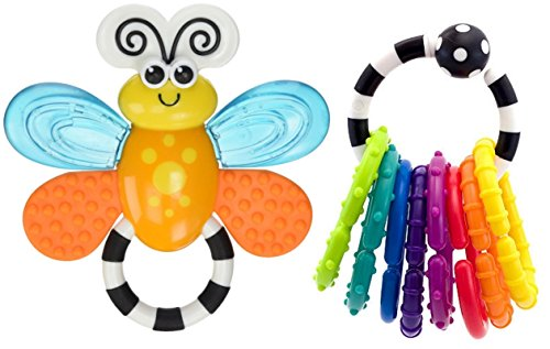 Sassy Flutterby Teether - 3