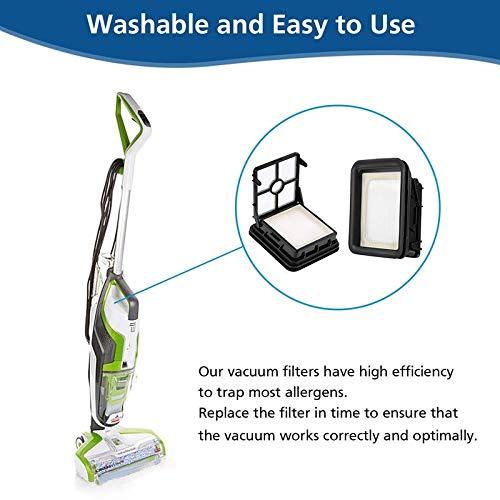 Louu 3 pack Multi Surface Pet Brush Roller 2306 e Crosswave 3 Pacchetto 1866 filtro vuoto compatibile con Bissell 1785 2306 2551 Wet Dr