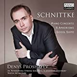 Schnittke: Piano Concerto 5 Aphorisms by Nadia Mokhtari, St. Petersburg String Soloists