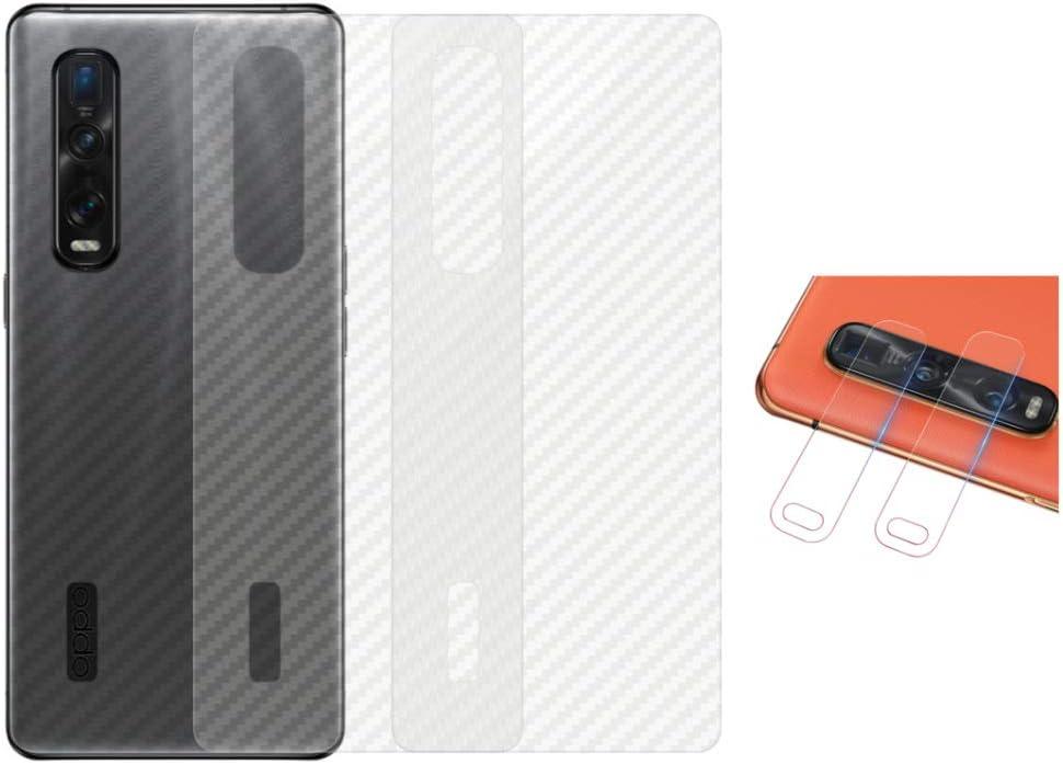Qichenlu 3x Rückseite Folie 2x Kamera Schutzglas Für Elektronik