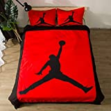 NOOS 3D Soccer Ball Duvet Cove Sets NZ02 100% Polyester Kids Basketball Bedding Set 2017 Design .Including 3PC 1Duvet Cover,2Pillowcases Twin Full Queen King Size