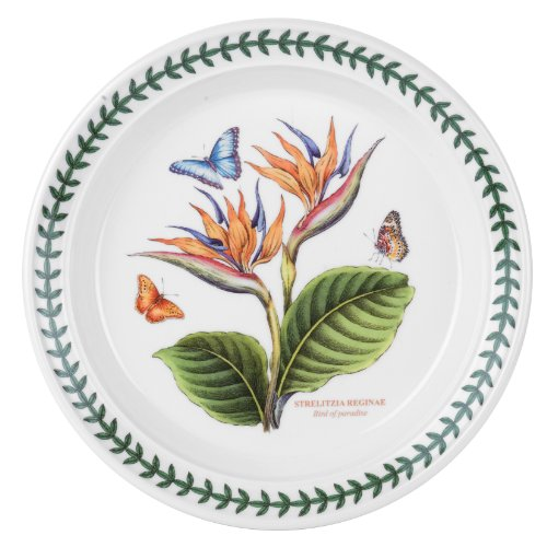 Portmeirion Exotic Botanic Garden Salad Plate with Bird of Paradise ()