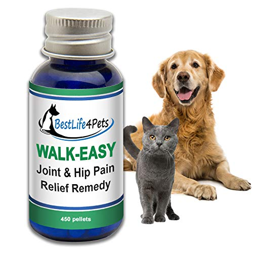 WALK-EASY Hip and Joint Supplement for Dogs and Cats; Advanced Anti-inflammatory Support and Arthritis Pain Relief Pills | Natural, Chemical-free and Easy To Give Your Pet ()