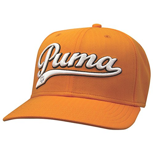 (PUMA Golf Script Cool Cell Relaxed Cap, Victory Orange)