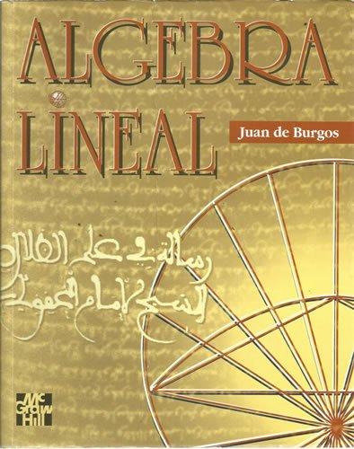 Descargar Libro Algebra Lineal J. De Burgos
