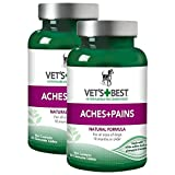 Vet's Best Aspirin Free Aches and Pains Dog Supplements, Natural Formula … (2 Pack)