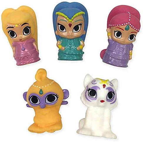 [해외]Nickelodeon Shimmer and Shine 5-Piece Finger Puppets / Nickelodeon Shimmer and Shine 5-Piece Finger Puppets