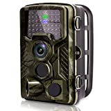 #10: [2018 New] VENLIFE Trail Camera, 16MP 1080P 120° PIR Sensor Wildlife Game Hunting Camera 65ft / 20m Infrared with Night Vision 46pcs IR LEDs, 0.2s Trigger Time IP56 Waterproof Protected Design