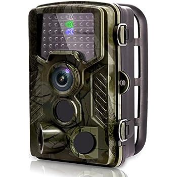 [2018 New] VENLIFE Trail Camera, 16MP 1080P 120° PIR Sensor Wildlife Game Hunting Camera 65ft / 20m Infrared with Night Vision 46pcs IR LEDs, 0.2s Trigger ...