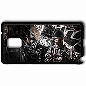 Personalized Samsung Note 4 Cell phone Case/Cover Skin 50 cent 30930 Black