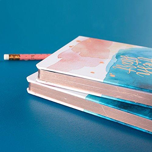 Erin Condren Watercolor Splash 2018 Hardbound Notebook (Lined) by Erin Condren