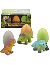 Animal Planet Grow Eggs- Dinosaur - Hatch and Grow Three Different Super-Sized Dinos (Series 1) BOBEBE Online Baby Store From New York to Miami and Los Angeles