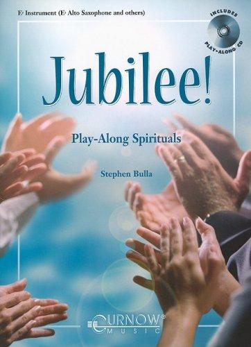 - Jubilee! - Play-Along Spirituals: Eb Instruments - Grade 3 - Book/CD Pack