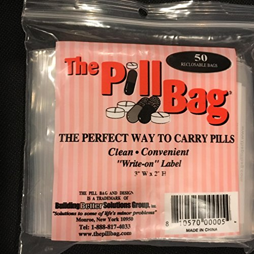 - The Pill Bag 50 Count