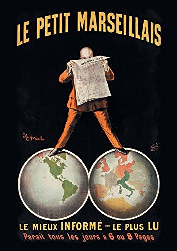 Carnet Ligne Affiche Journal Le Petit Marseillais (Bnf Affiches)  [Cappiello-L] (Tapa Blanda)