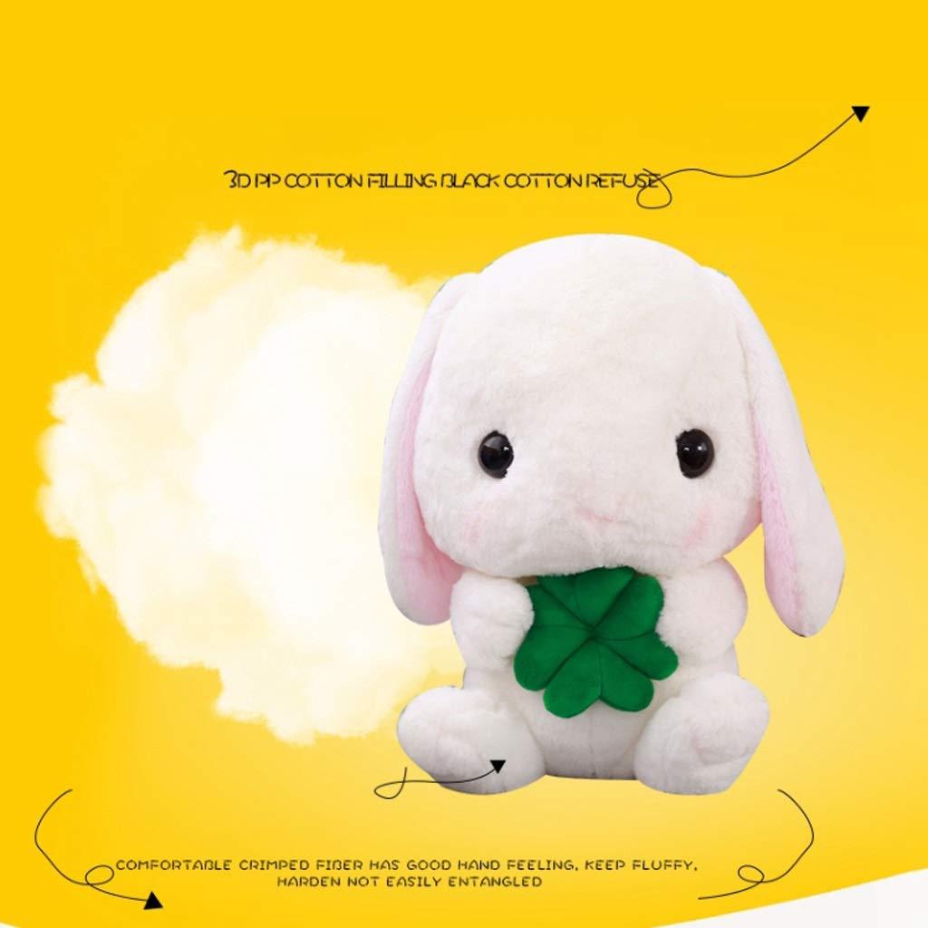 40765d85731 Zhijie-wanju Regalo de cumpleaños Lindo del Juguete de la la la Felpa de la  muñeca del Conejo de Lop para los bebés ...