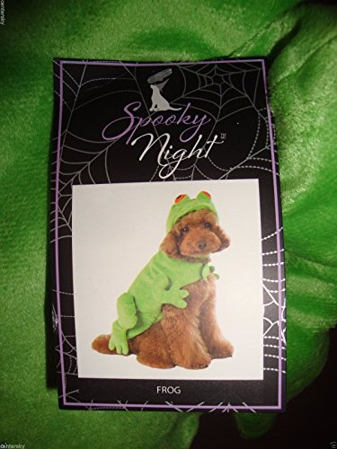 Spooky Night Dog Costumes! Frog, Fireman, Crab! (Frog)]()