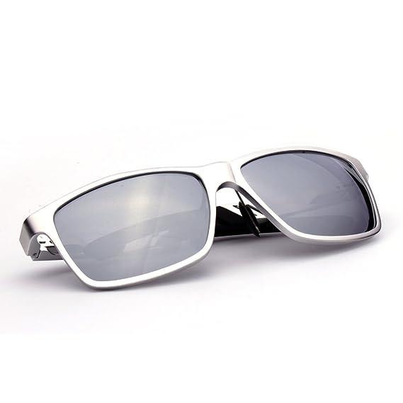 ELITERA Aluminium Magnésium polarisées Hommes Lunettes de soleil pour conduite sportive Voyage E6560 (Gris&Gris) 7psjnbb