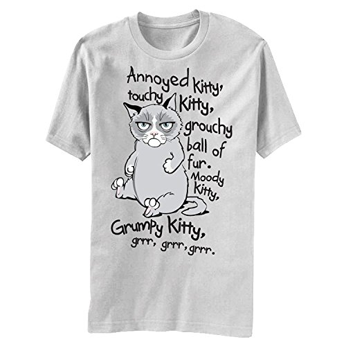 Grumpy Cat Grr Grr Grr Soft Kitty Mens T-shirt