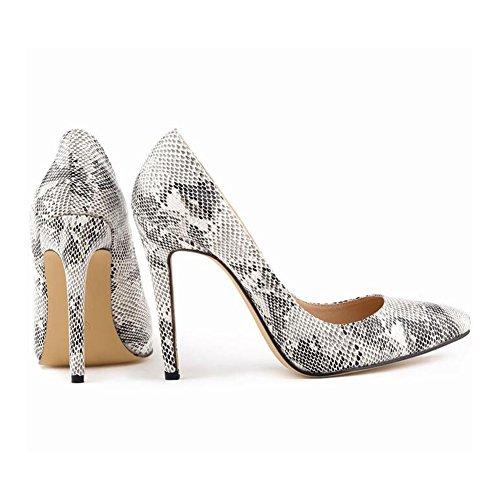 Aiguille 2 Chaussures Padgene Talon Femme Multicolore Haut Escarpins xnXCqf