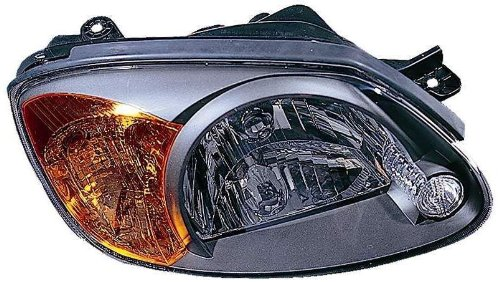 Hyundai Passenger Side Headlight - Depo 321-1124R-AS Hyundai Accent Passenger Side Replacement Headlight Assembly