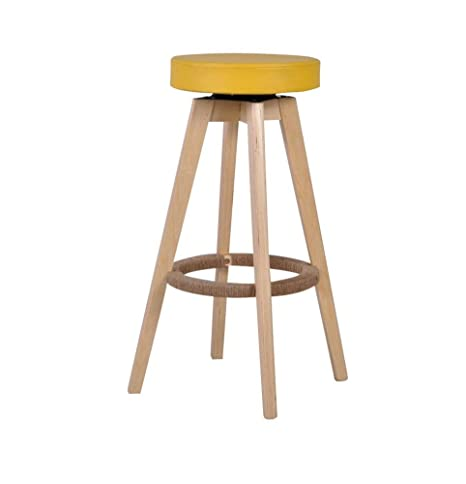 Prime Amazon Com High Bar Stool Bar Stools The Chair Solid Wood Machost Co Dining Chair Design Ideas Machostcouk