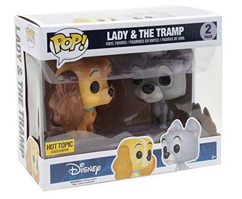 Funko Pop! Exclusive Disney Lady & The Tramp