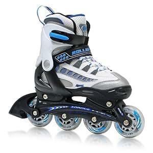 Roller Derby Rocket MDX Adjustable Boy's Inline Skates Skate (Small)