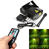 Sumger Mini Led Strobe Laser Stage Lighting With Remote Control And Sound Activated For Disco DJ Stage Lighting Wedding Show Club Pub Light KTV Party