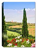 Umbria Bell Tower - Indoor Outdoor Art - Weatherprint Patio Art