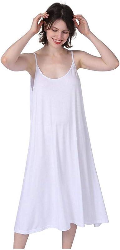 applemi Vestidos Mujer Algodón Verano,Vestidos de Playa sin Mangas Falda Largo Sexy Elegante y Comodo Dress para Playa Casual Caminar Diario Compras: Amazon.es: Ropa y accesorios