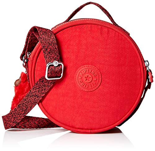 Kipling Raquel Circle Crossbody Bag, cherry