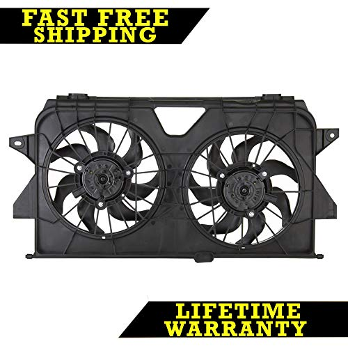 (RADIATOR CONDENSER COOLING FAN FOR DODGE FITS CARAVAN TOWN COUNTRY CH3115145)