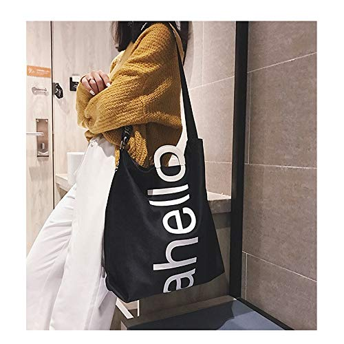 borse verde Moda colore per Shoulder One Messenger Travel di Donna Shopping Fashion design Nero Klerokoh Bag tw8pqx46