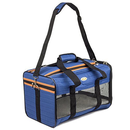 Peterol-Airline-Approved-Soft-Sided-Under-Seat-Pet-Travel-Carrier-For-Small-Cats-Dogs-17L-X-11W-X-11H