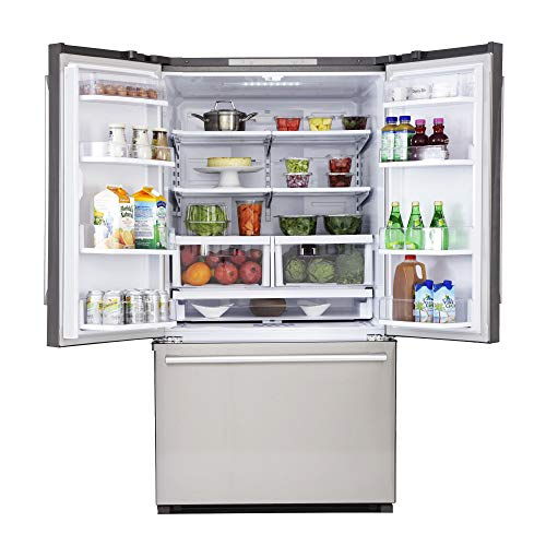 Kucht K748FDS French Door refrigerator, 36 Inch, Stainless Steel