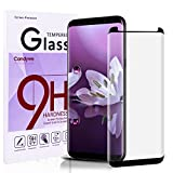 Galaxy S8 Screen Protector,Candywe 3D Full Curved Edge Samsung S8 tempered glass [Black][1-Pack] ,HD Clear,Anti-Scratch,Anti-Bubble Glass Screen Protector for Galaxy S8