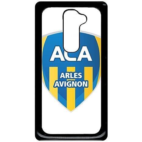 Carcasa LG G2 Escudo Club Aca Arles Avignon Simple: Amazon ...