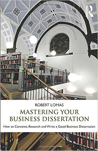 good books for english dissertation
