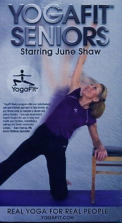 Amazon.com: YogaFit Seniors [VHS]: June Shaw: Movies & TV