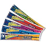 Sqwincher 3 oz Sqweeze Electrolyte Freezer Pop, Assorted 159200201 (15 Bags of 10)