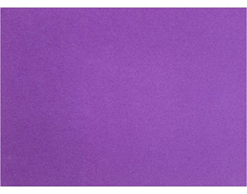 A7 Flat Card (5 1/8 x 7 ) - Purple Power (250 Qty.) by Envelopes Store