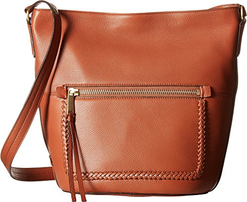 Cole Haan Women's Celia Bucket Hobo Brandy Brown One Size by Cole Haan